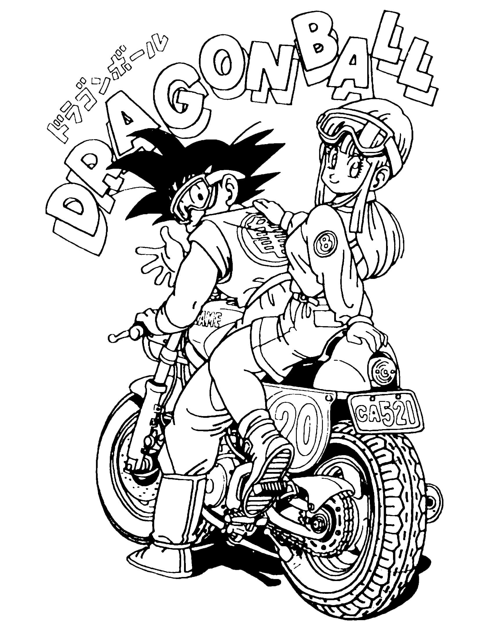 dragon ball z coloring pages1free printables coloring pages