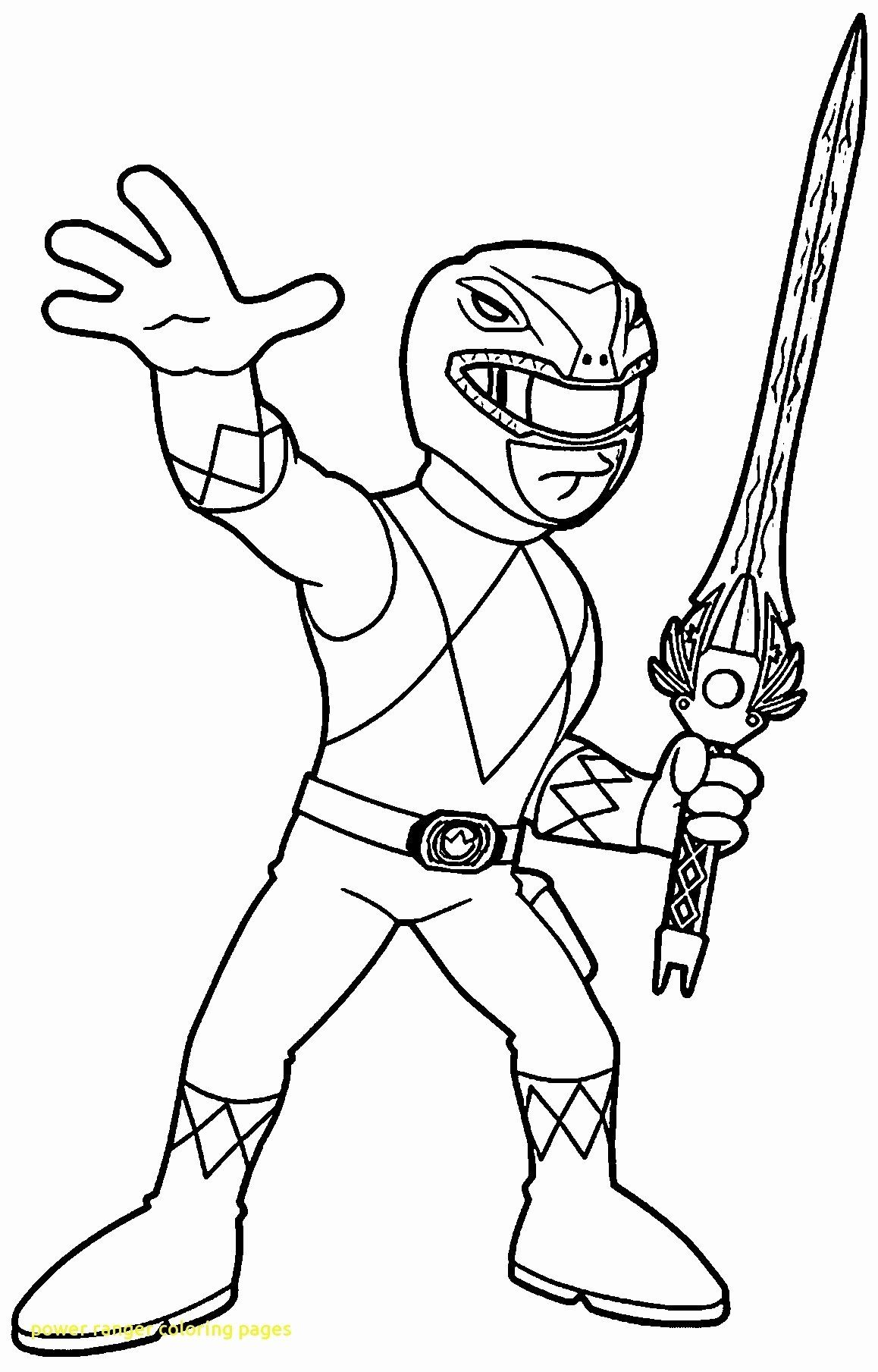 Red Power Ranger Coloring Pages   Coloring Home