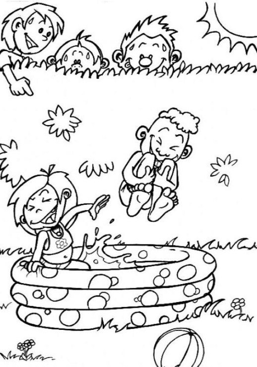 water fun coloring pages - photo#6