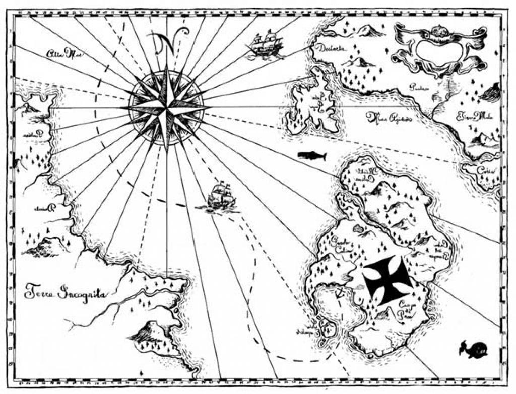 черно-белые картинки для распечатки карта немецких
