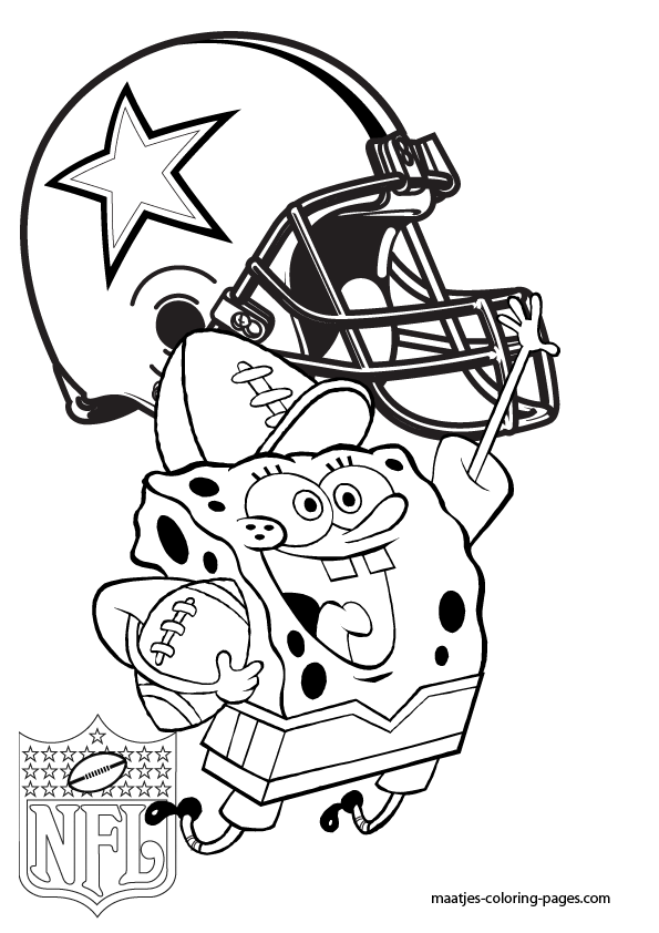 Dallas Cowboys Coloring Pages For