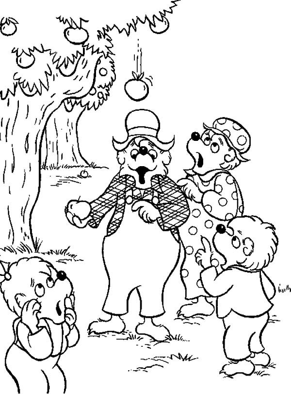 Free coloring pages berenstain bears live ~ The Berenstain Bears Coloring Pages - Coloring Home