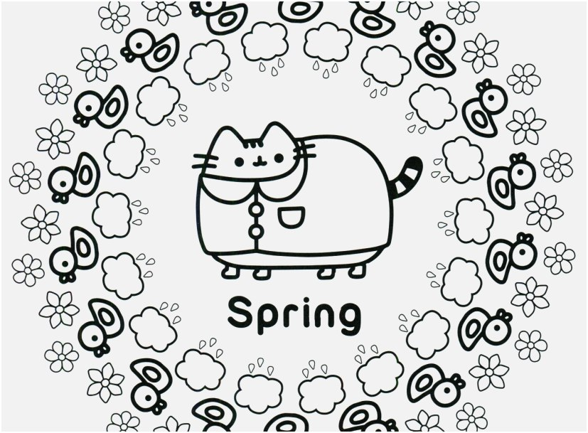 Pusheen Coloring Pages View Pusheen Coloring Book Pusheen - Coloring  Home