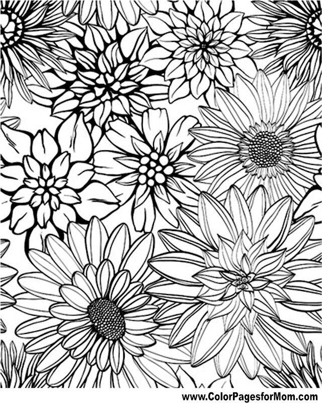 - Flower Coloring Pages Coloring Pages - Coloring Home