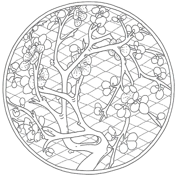Art Therapy Coloring Page China : Chinese Garden 9 - Coloring Home