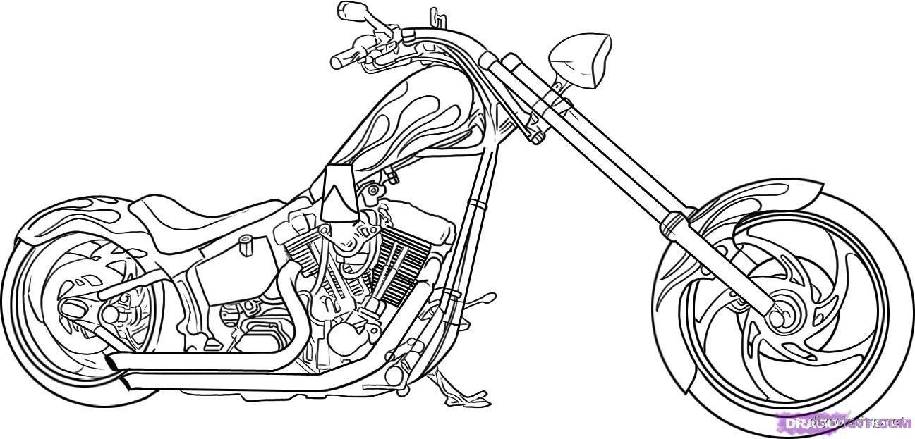 Motorcycle Coloring Pages Pdf : Boy coloring pages pdf az