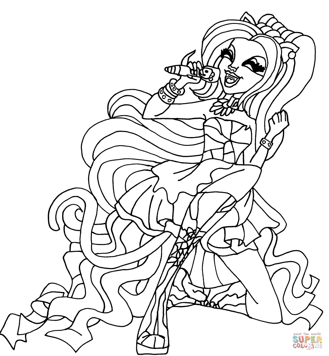 Catty Noir coloring page | Free Printable Coloring Pages