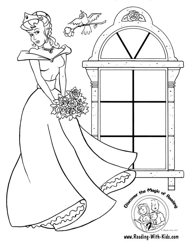 Princess Bride Coloring Pages  Best Coloring Pages 2017