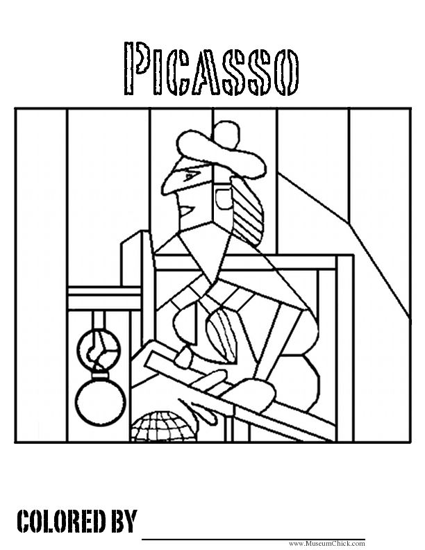 - Famous Art Coloring Pages - Coloring Home