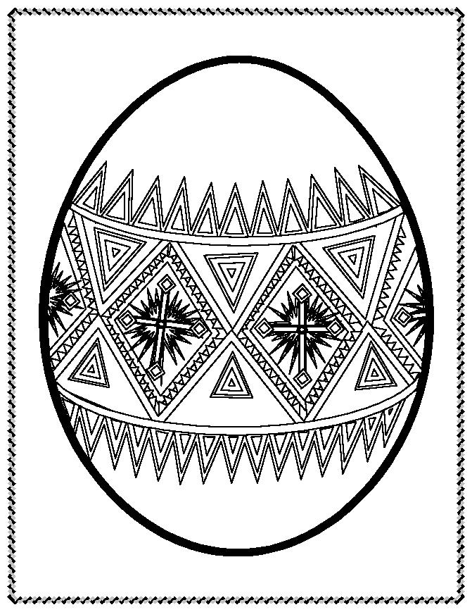 Giant Easter Egg Coloring Pages Crafthubs