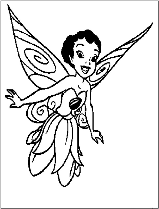 Coloring Pages Of Disney Fairies | Best Coloring Pages