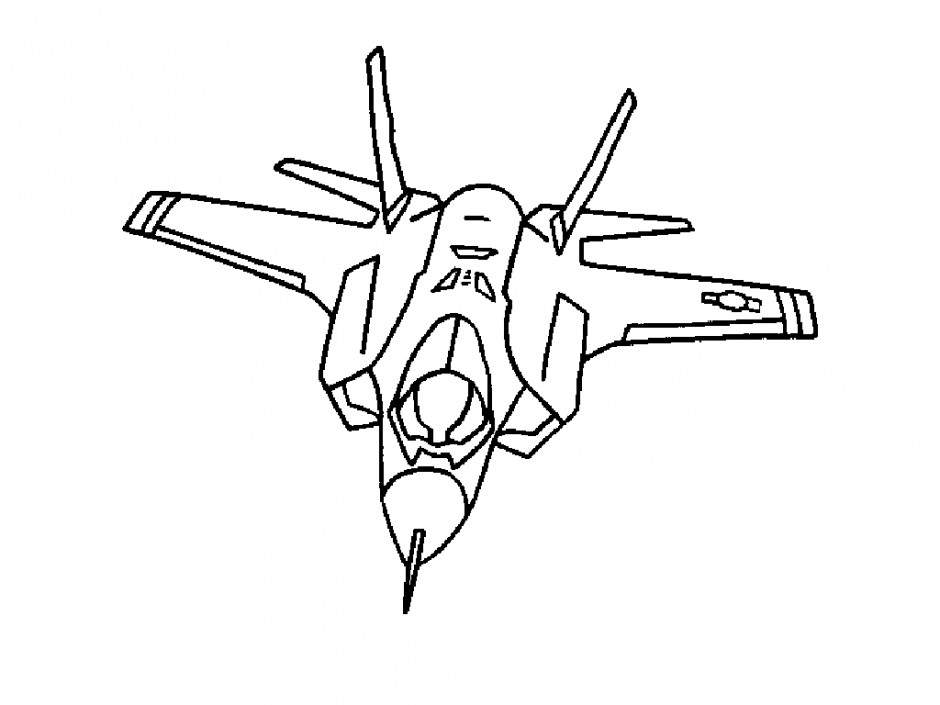 Fighter jet coloring pages fighter jet airplane coloring for Jets logo coloring page