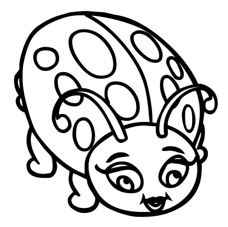 bug coloring pages ladybug - photo#15