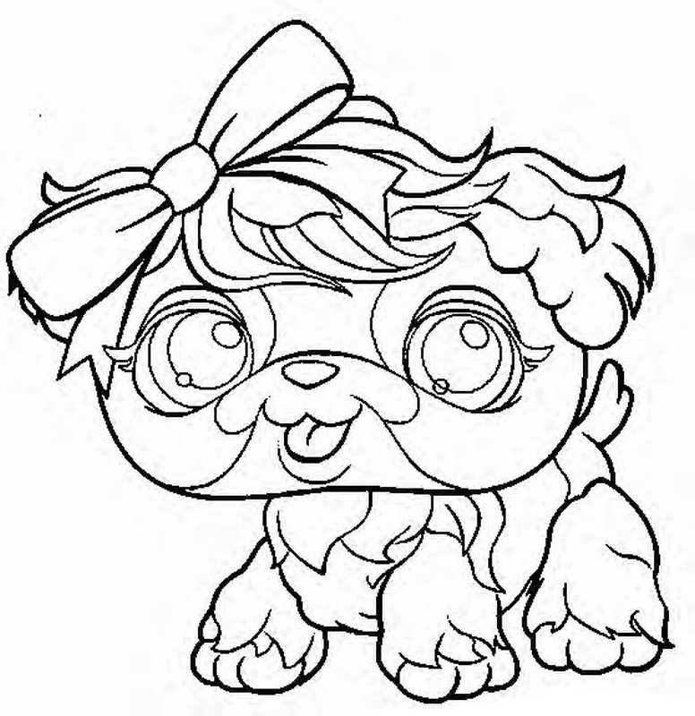 little pet shop pony Colouring Pages (page 3)