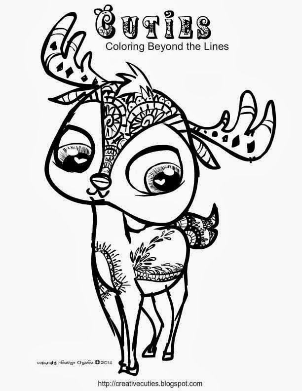 Cuties Animal Coloring Pages