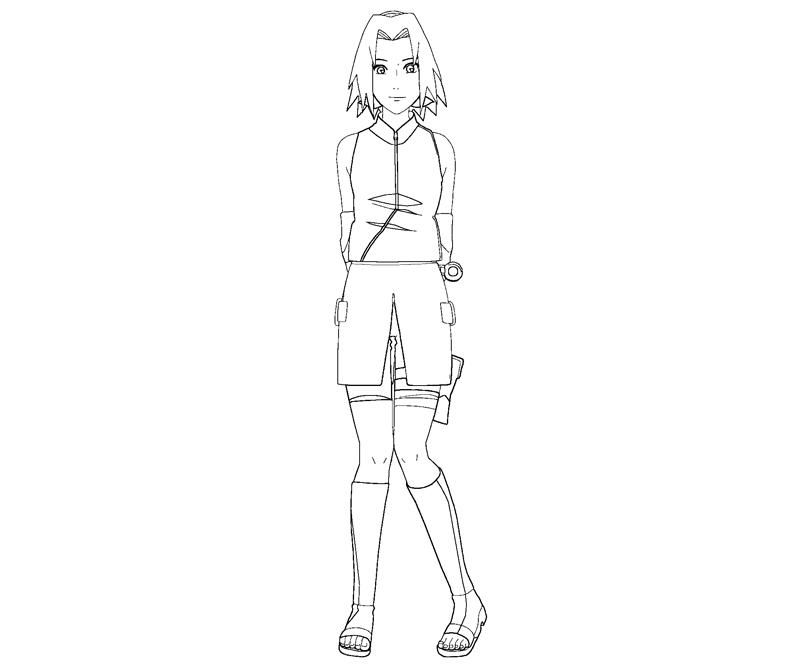 haruno coloring pages - photo#20