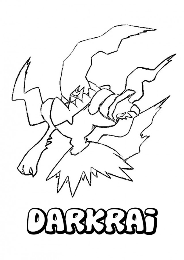 all legendary pokemon coloring pages - photo#21