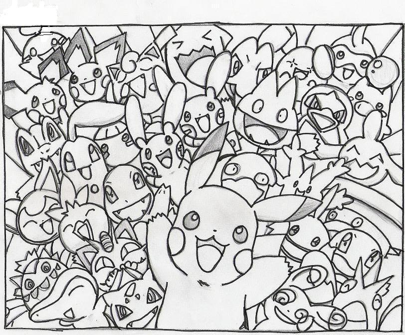 free collage coloring pages - photo#4