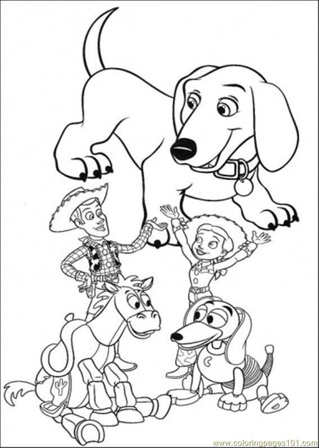 toy story coloring pages rexburg - photo#18
