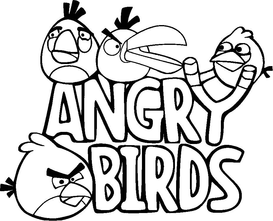 Angry Birds Star Wars Coloring Pictures: Angry Birds Star Wars Coloring Pages To Print
