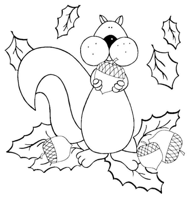 free squirrel girl coloring pages