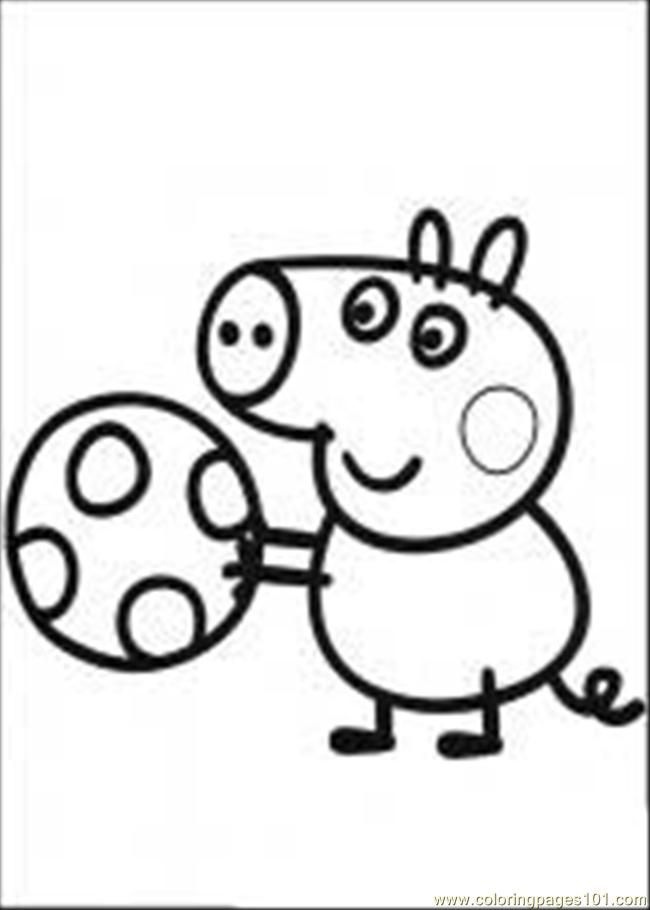 Coloring Pages Peppa Pig 03 M (Mammals > Pig) - Free Printable ...