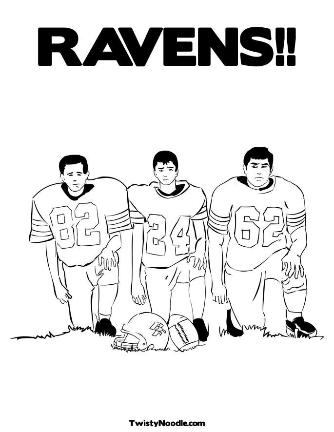 Ravens kids coloring pages ~ Ravens Coloring Pages - Coloring Home