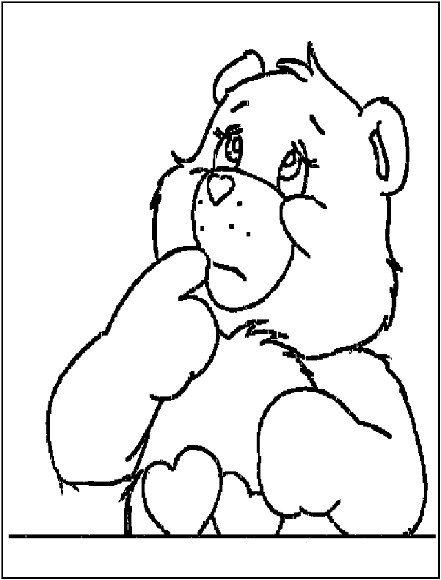 Free Printable Coloring Pages Teddy Bear : Cute love teddy bear coloring pages free printable