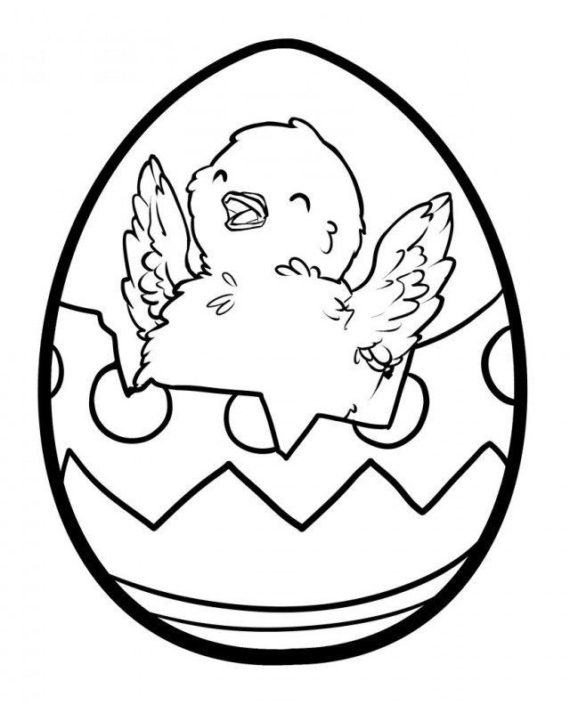 Galerry egg cartoon coloring