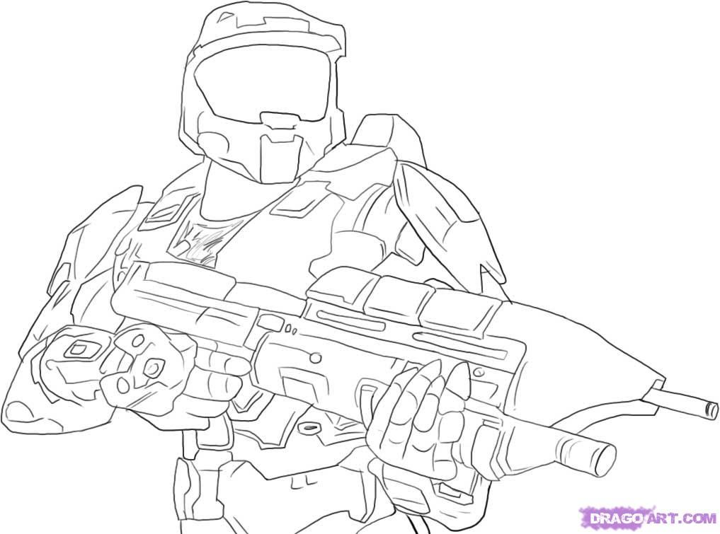 halo coloring pages page site
