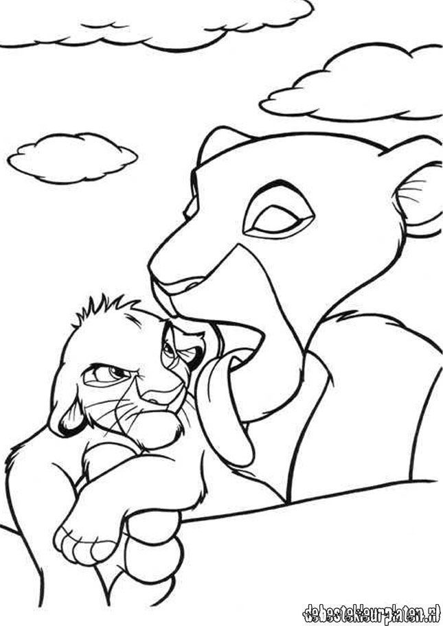 Lion Coloring Pages Pdf : The lion king coloring pages printable