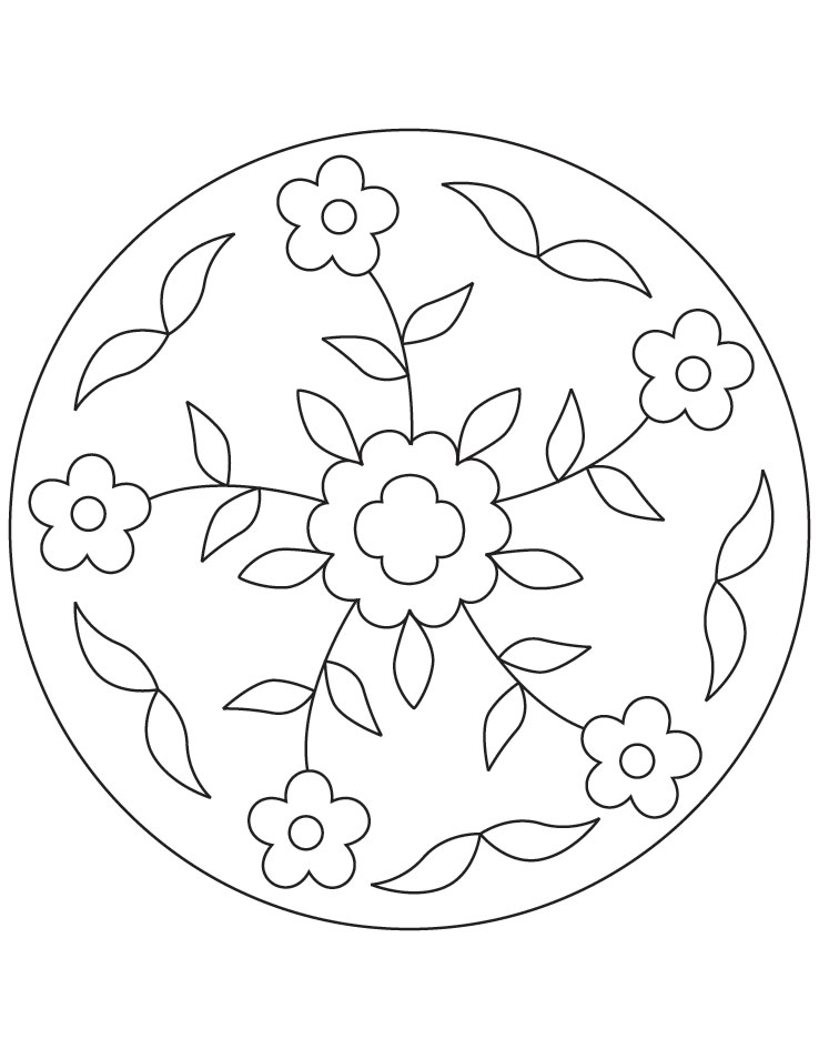 Rangoli coloring pages az coloring pages for Rangoli coloring pages