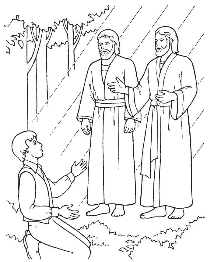 First Vision Primary Coloring Page