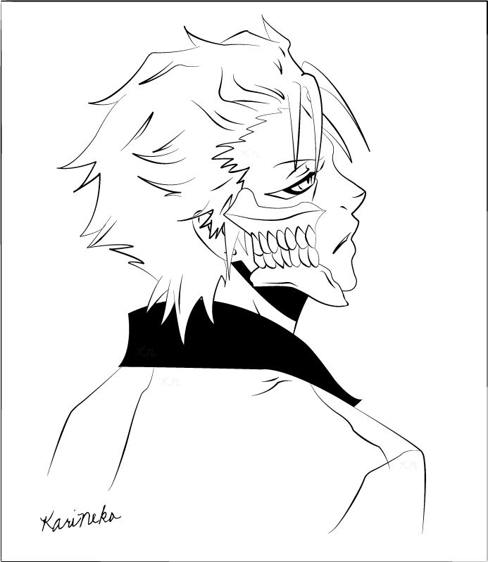 bleach coloring book pages - photo#26