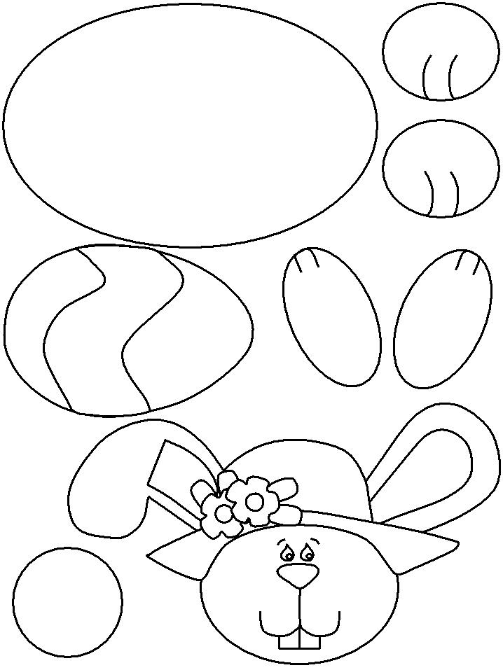 cut out coloring pages - easter egg cut out az coloring pages