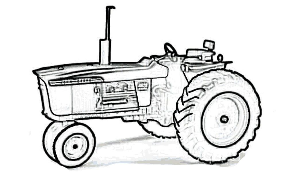 Free Tractor Coloring Pages - Coloring Home