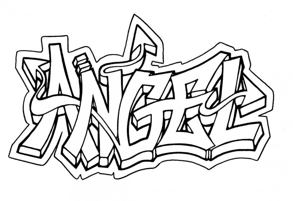 Graffiti Coloring Pages Baby Graffiti Coloring Page Graffiti Art Coloring Pages 281258 .