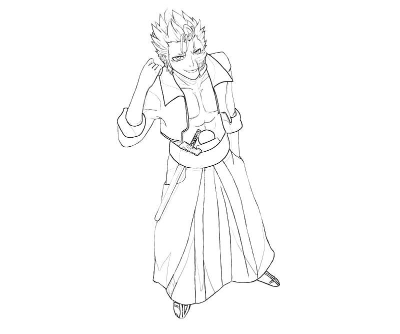 Bleach Grimmjow Coloring Pages - Coloring Home