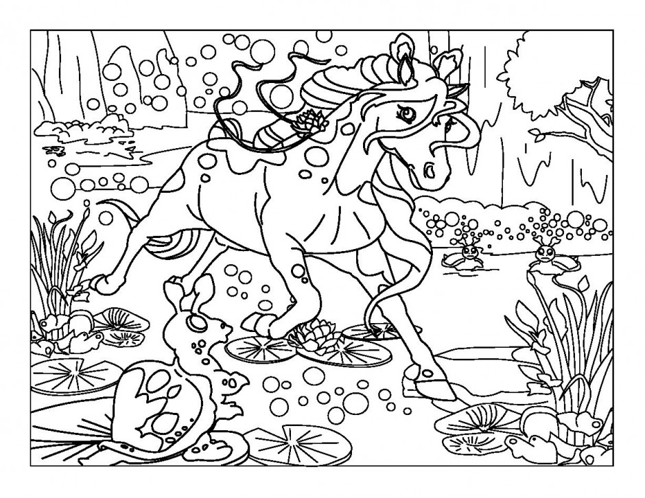 Bella Sara Coloring Pages AZ Coloring Pages