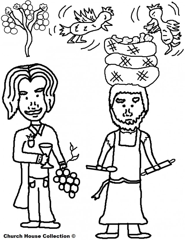 Josephs Butler And Baker Dreams Coloring Page 212115