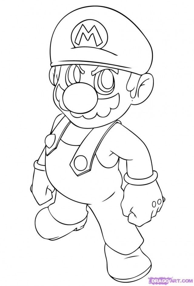 super mario characters coloring pages - super mario brothers characters pictures az coloring pages