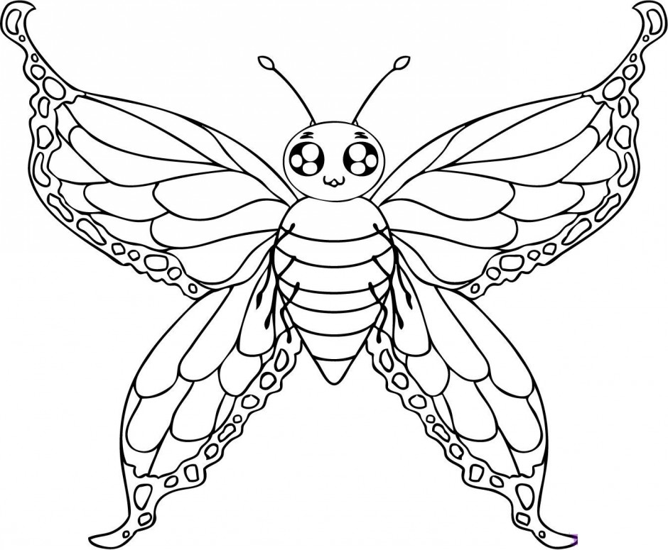 geometric butterfly coloring pages - photo #21