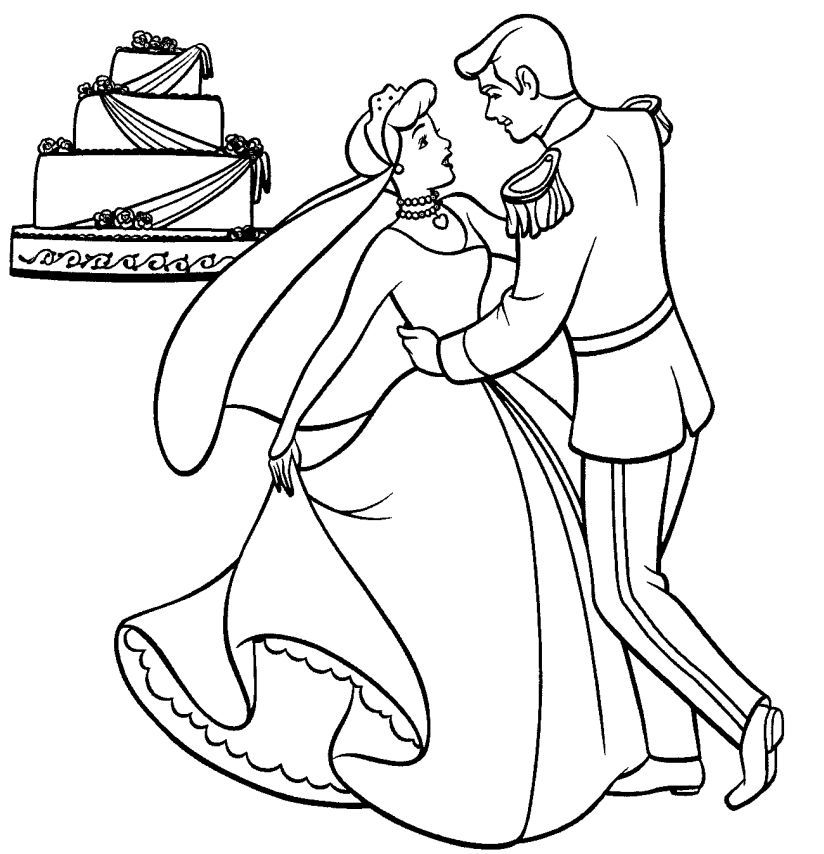 Cinderella Coloring Pages Library Coloring Pages For Kids | Kids