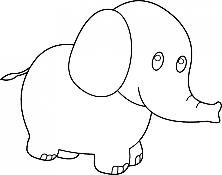 Elmer The Elephant Coloring Pages