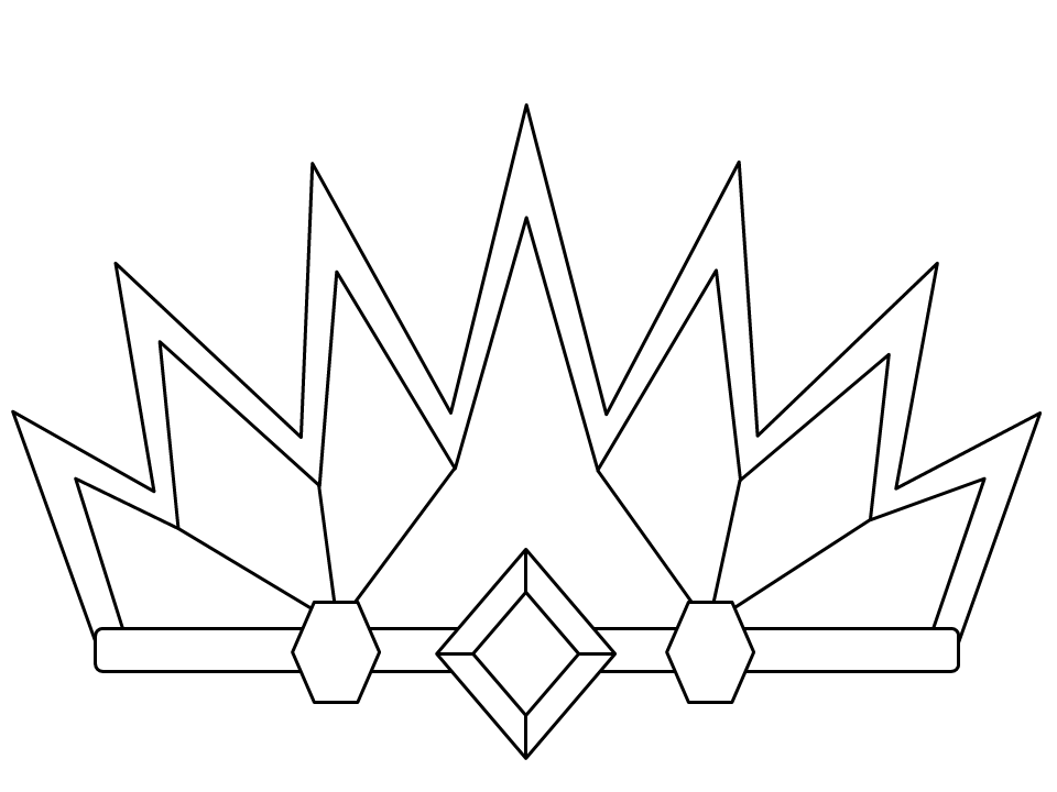 coloring pages of crowns - photo#17