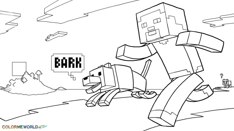coloring pages minecraft stampylongnose halloween - photo#22