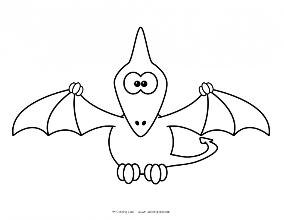 Pterodactyl Coloring Page Az Coloring Pages Pterodactyl Coloring Pages