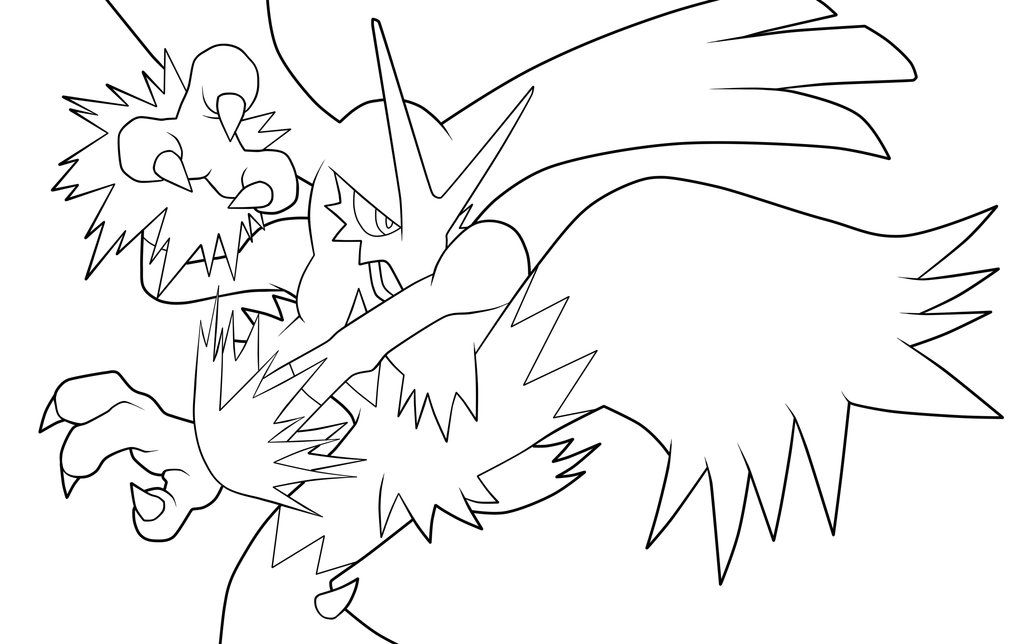 blaziken coloring pages - photo#33