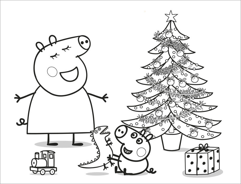 Peppa Pig: Christmas Artist Pad - Scholastic Book Club