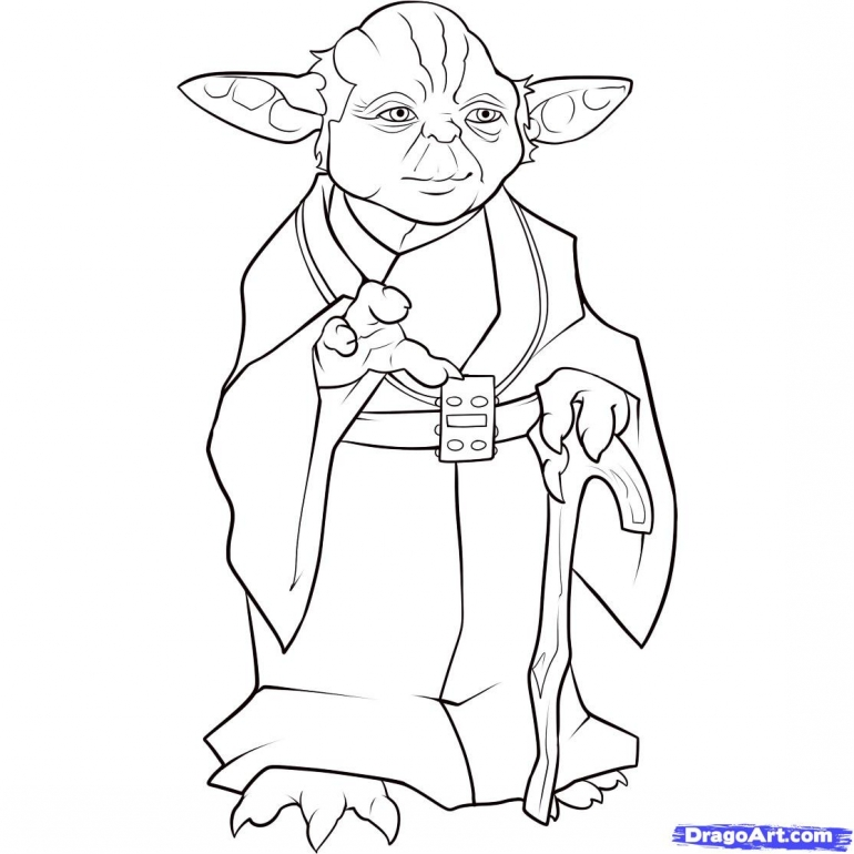 5cReo6EMi Yoda Coloring Pages